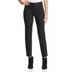 Tory Burch Vanner Slim Black Pant Size 2